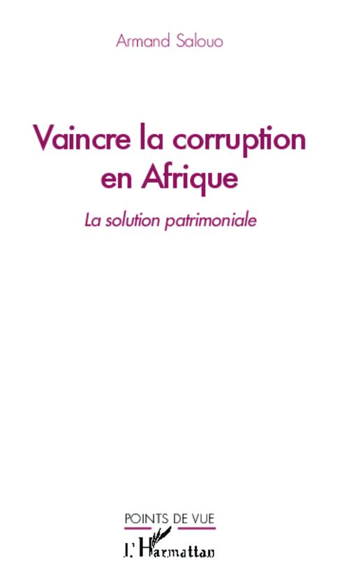 Armand Salouo Vaincre la corruption en Afrique