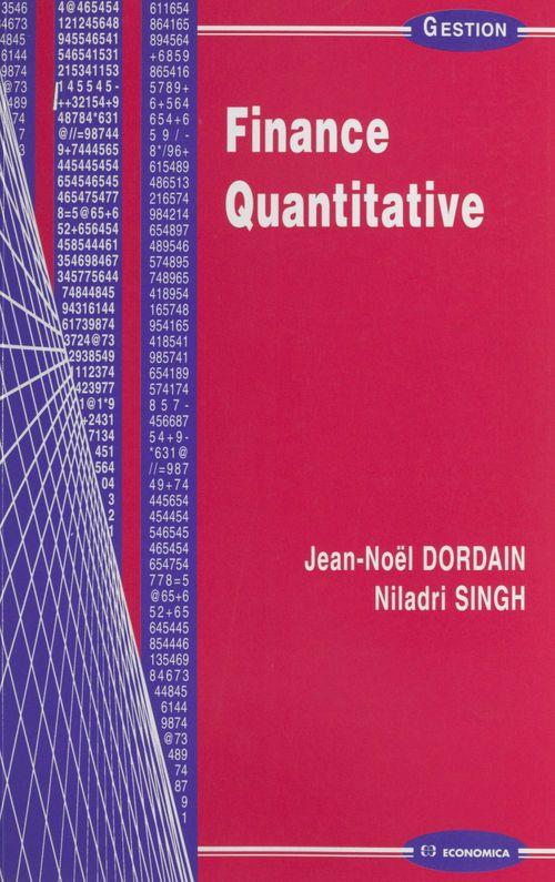 Finance quantitative