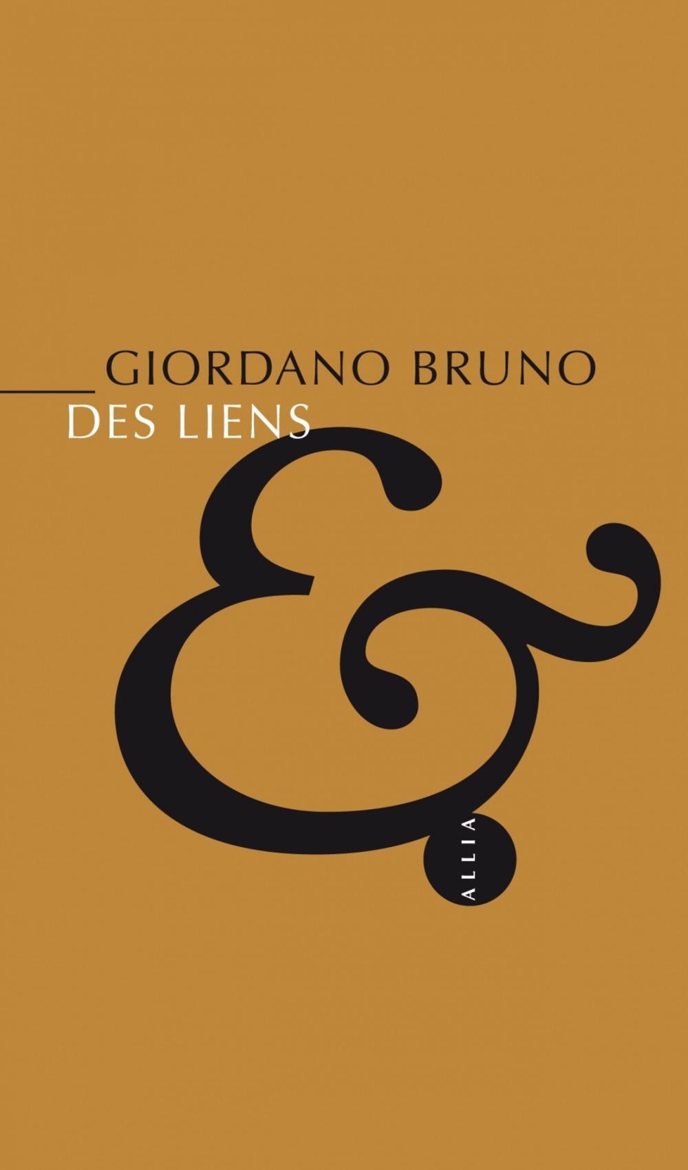 Giordano BRUNO Des liens