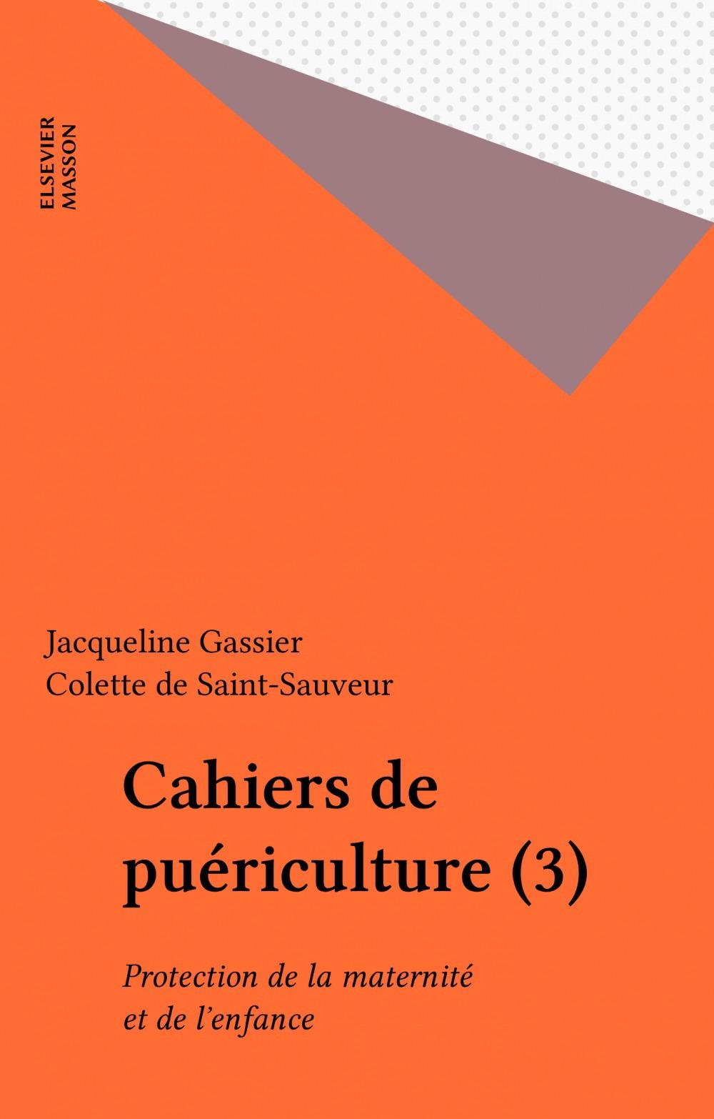 Cahiers de puériculture (3)