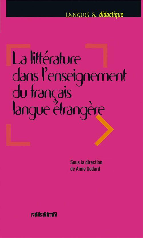 Anne Aubert-Godard Littérature dans l'enseignement du FLE