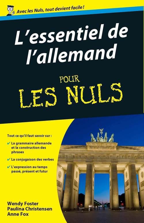 Essentiel de l'allemand Pour les Nuls