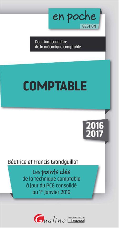 Francis Grandguillot En poche - Comptable 2016-2017