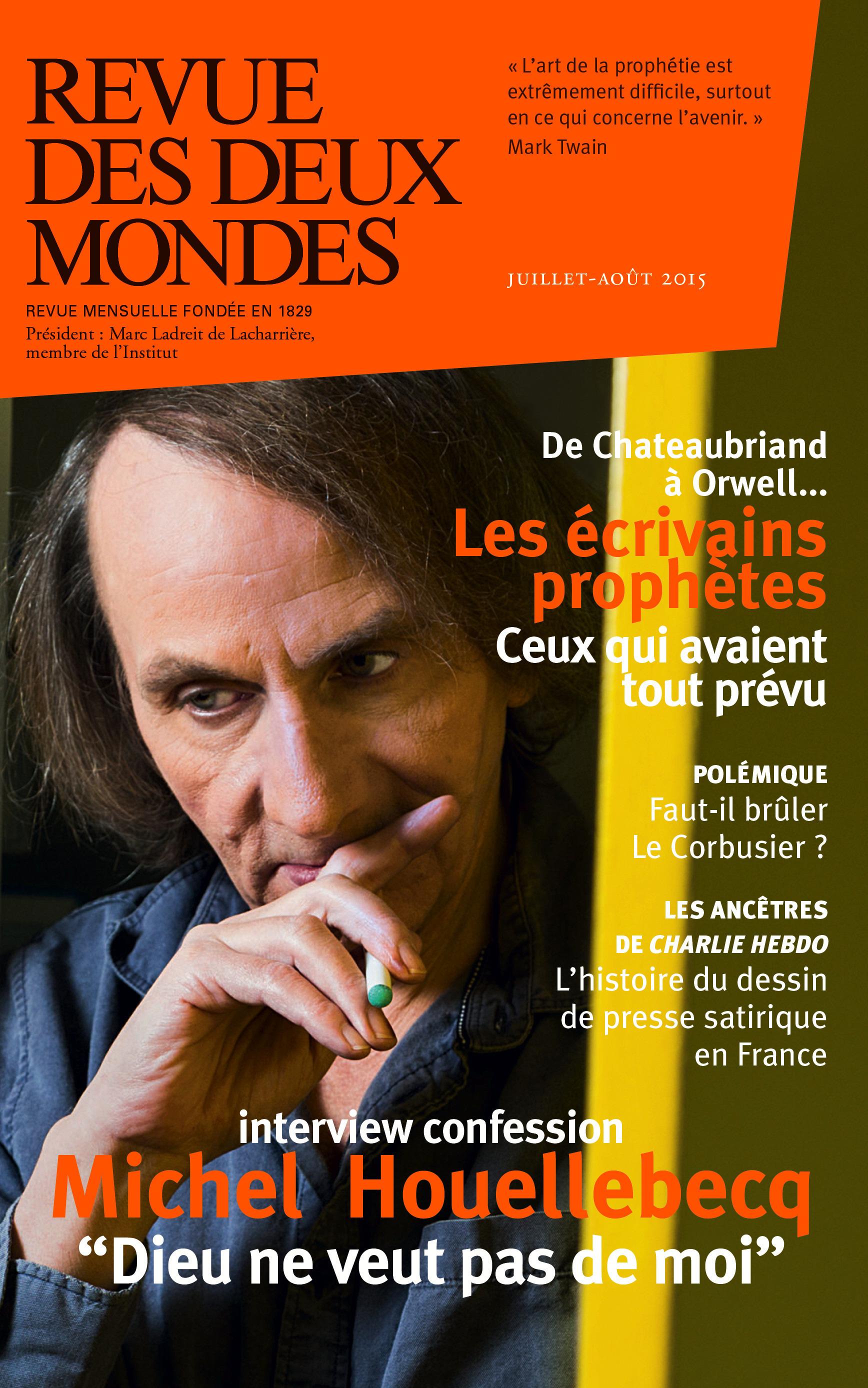 Jean-François Kahn Revue des Deux Mondes juillet-août 2015