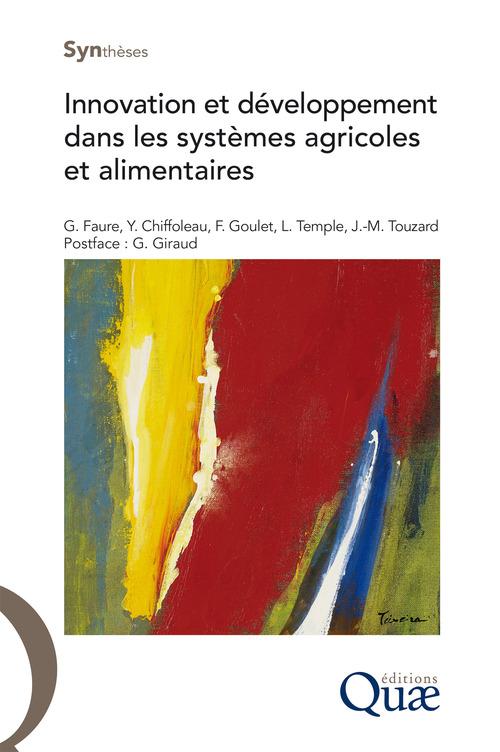 Frédéric Goulet Innovation et développement dans les systèmes agricoles et alimentaires