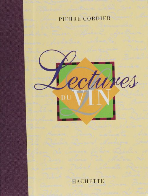 Pierre Cordier Lectures du vin