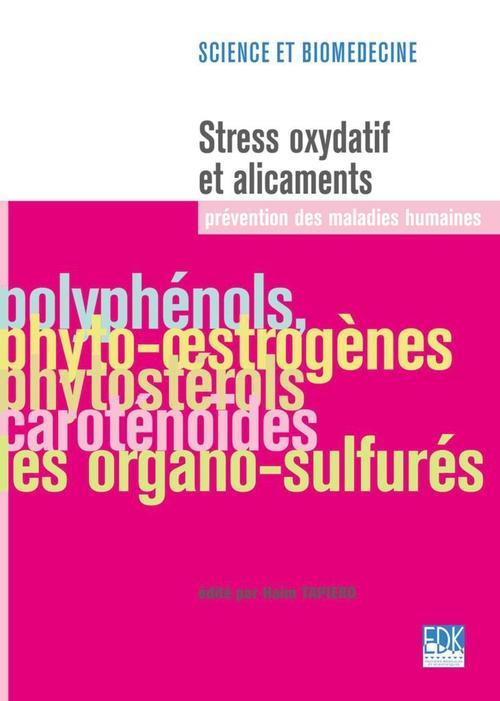 Haim Tapiero Stress oxydatif et alicaments