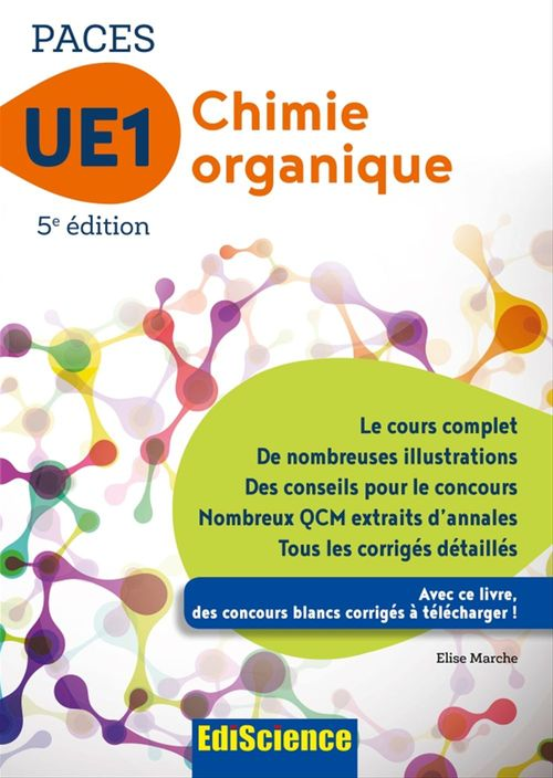 Chimie organique - UE1 PACES - 5e ed.