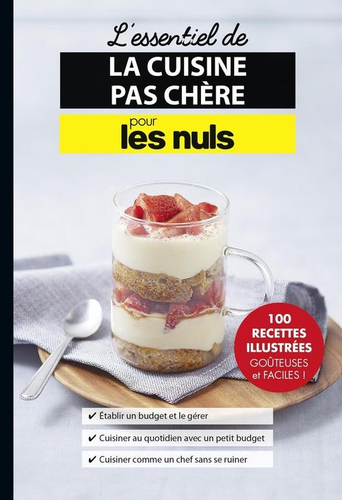 Jules Lebrun L'essentiel de la cuisine pas chère pour les Nuls