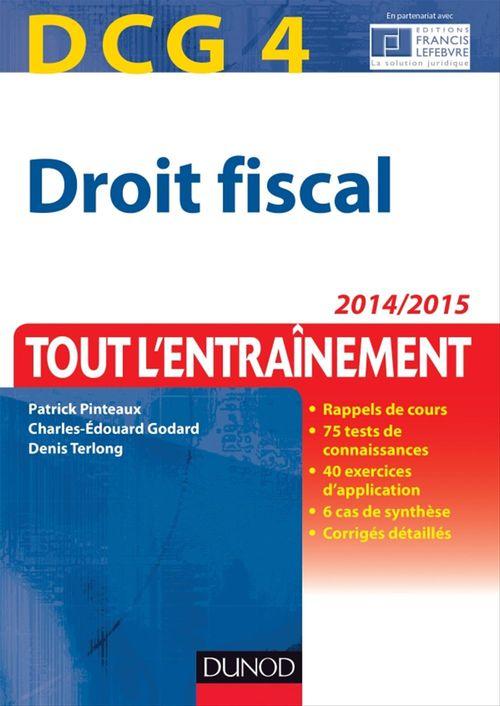 DCG 4 - Droit fiscal 2014/2015 - 8e éd