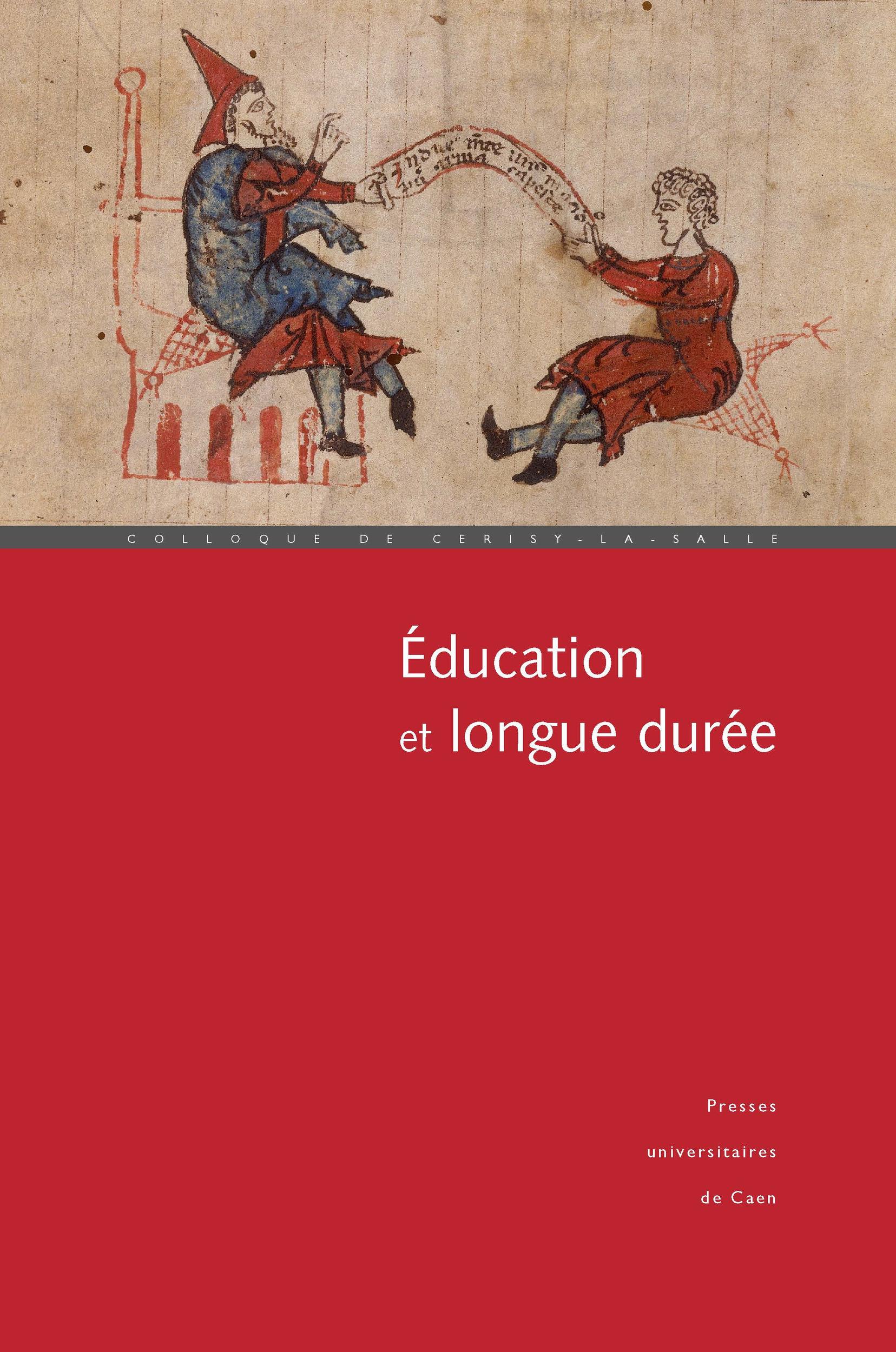 Alain Vergnioux Éducation et longue durée