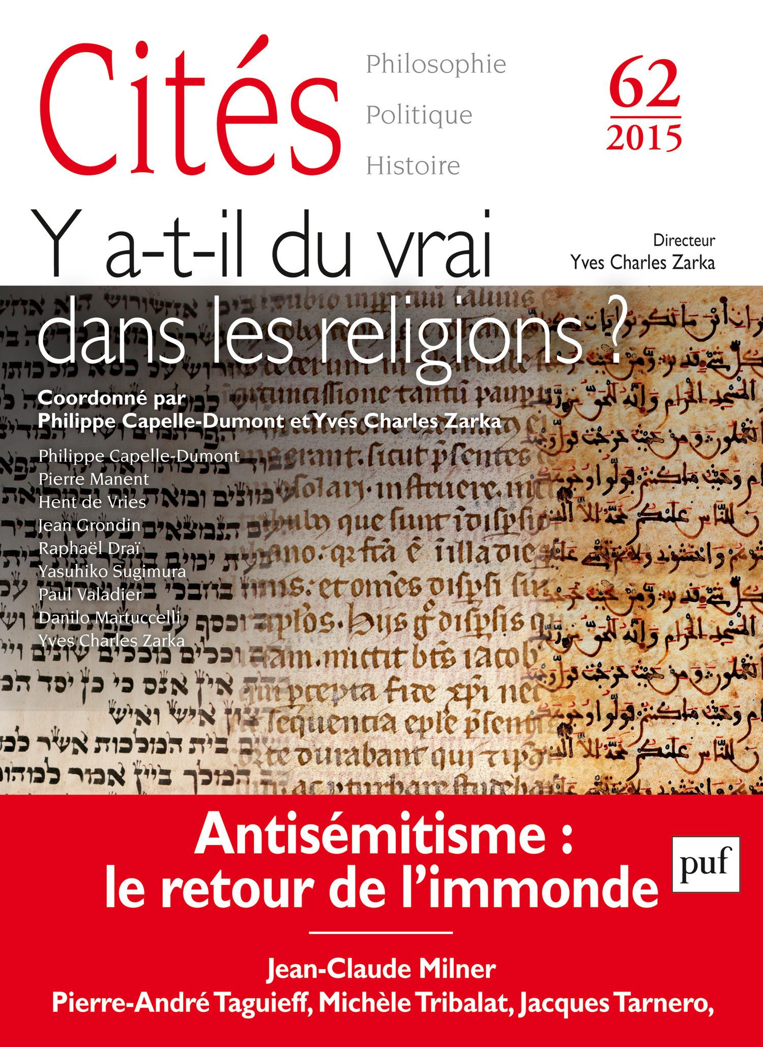 Collectif Les religions et la vérité