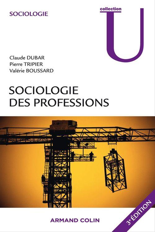 Pierre Tripier Sociologie des professions