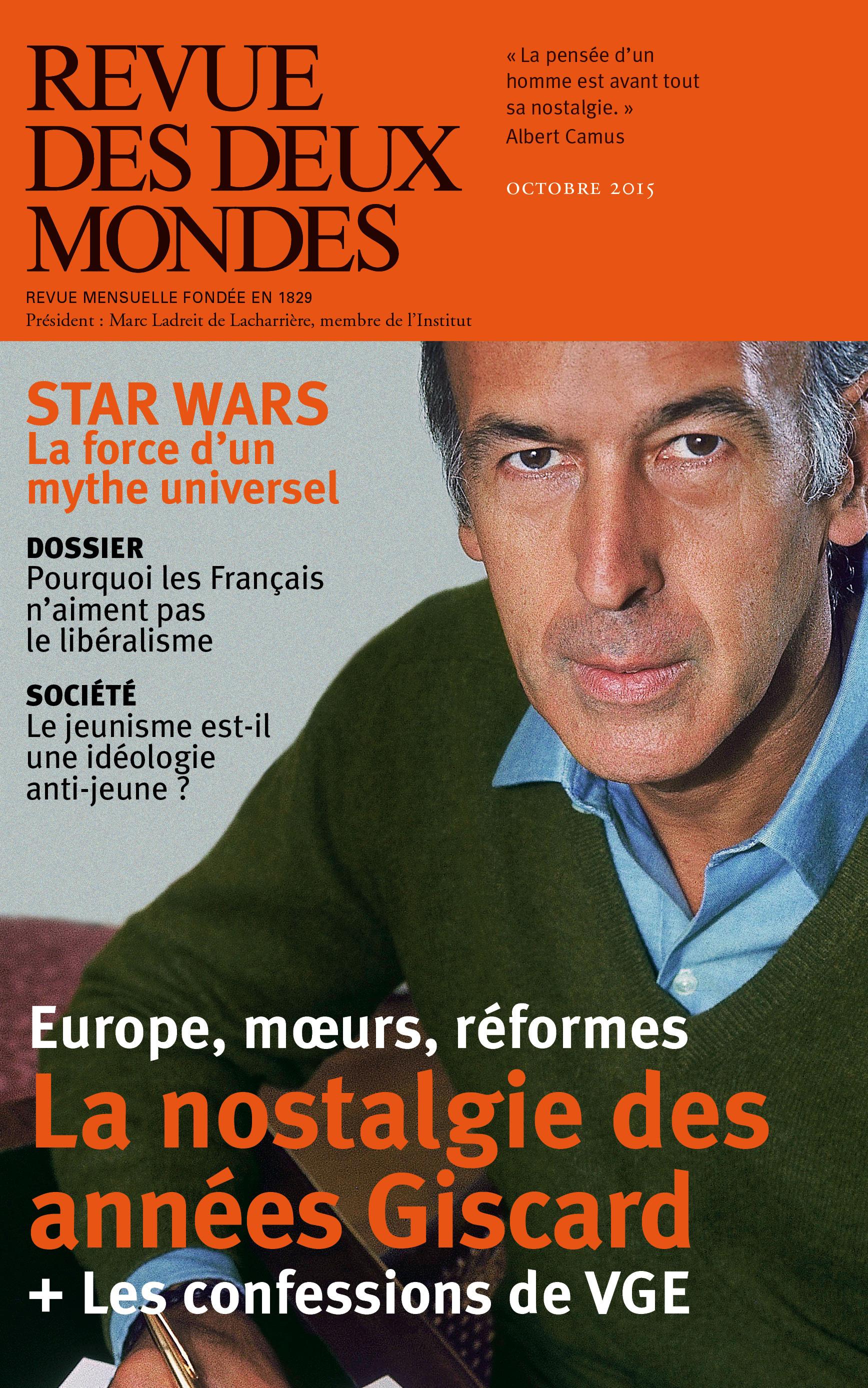 Franz-Olivier Giesbert Revue des Deux Mondes octobre 2015
