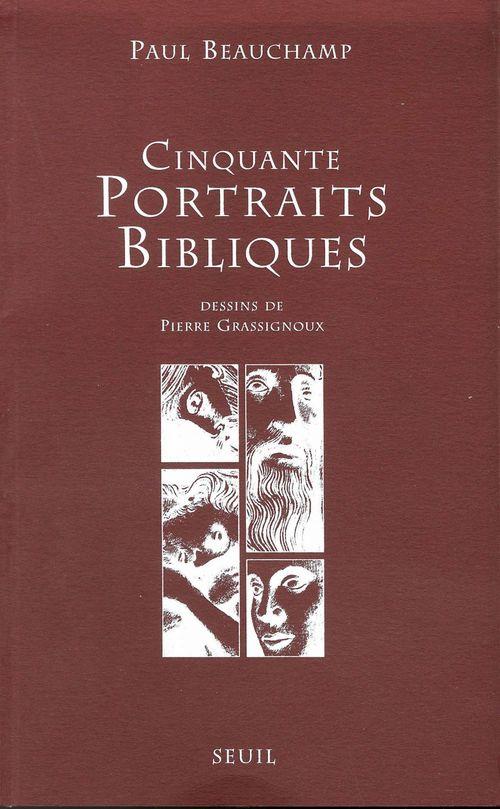 Paul Beauchamp Cinquante Portraits bibliques