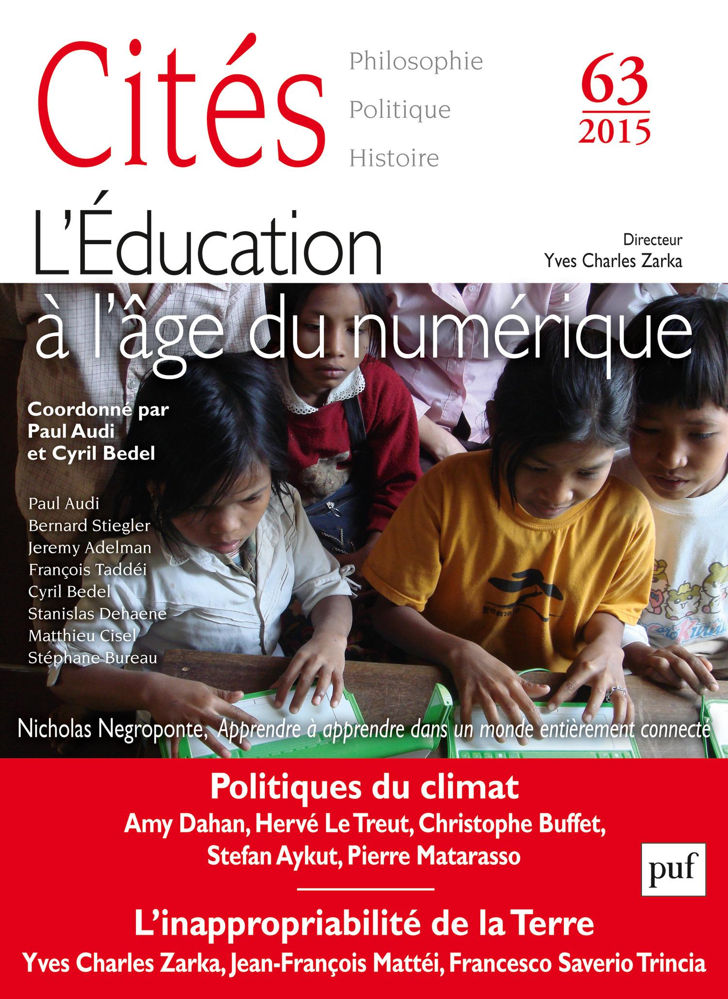 Collectif Cités 2015 - N° 63
