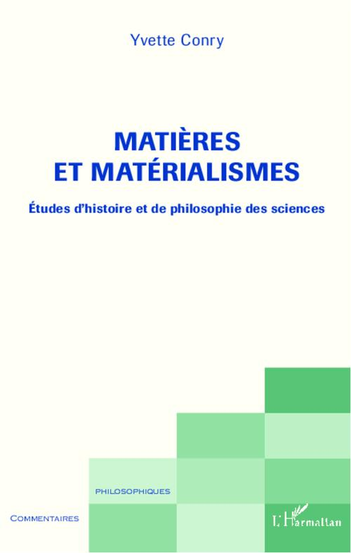 Yvette Conry Matières et matérialismes