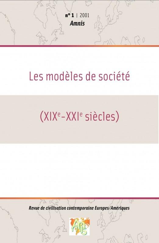 Université de Bretagne Occidentale 1 | 2001 - Les modèles de société (XIXe-XXIe siècles) - Amnis
