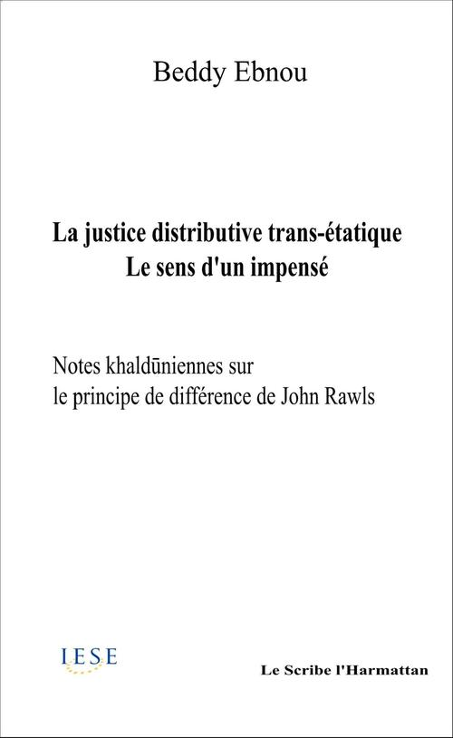 La  justice distributive trans-étatique