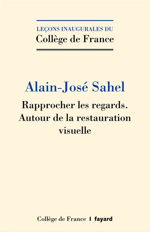 José-Alain Sahel Rapprocher les regards