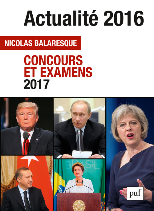 Nicolas Balaresque Actualité 2016 - Concours et examens 2017