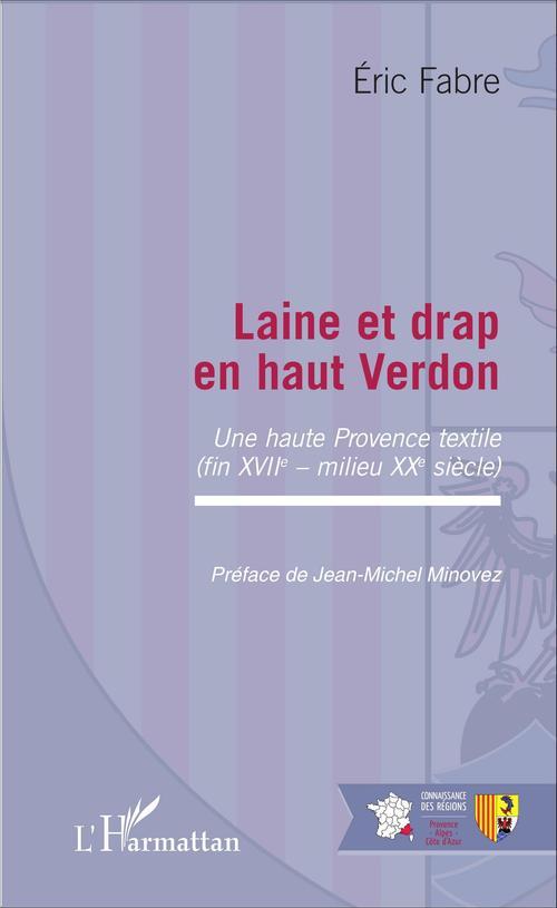 Éric Fabre Laine et drap en haut Verdon