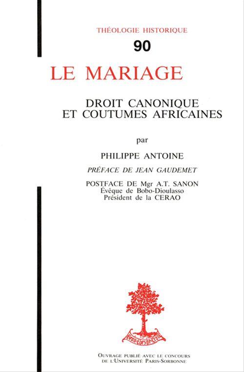 Le Mariage Droit Canonique Et Coutumes Africaines