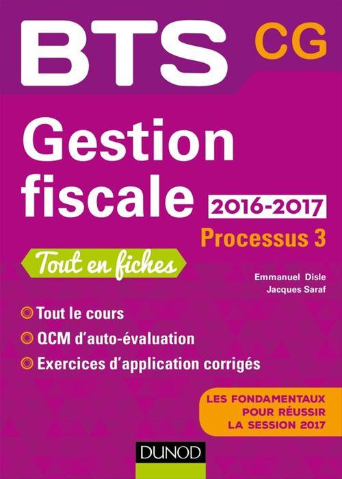 Emmanuel Disle Gestion fiscale 2016/2017