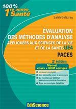 Evaluation des méthodes d'analyse appliquées aux sciences de la vie et de la santé - UE4 - 2ed