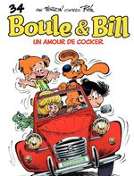 Boule & Bill t.34 ; un amour de cocker
