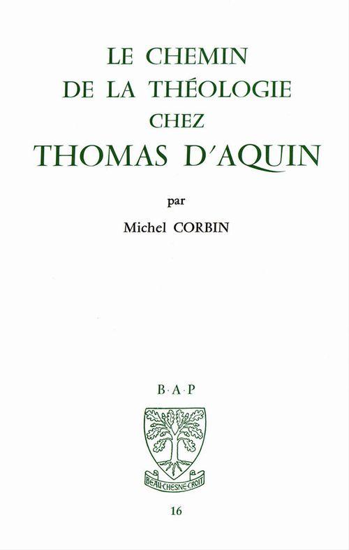 Le chemin de la théologie chez Thomas d'Aquin
