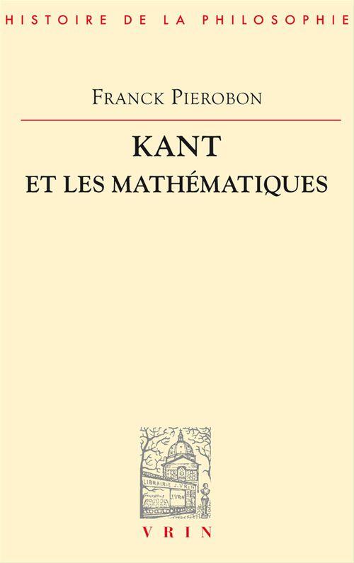 Kant et les mathématiques