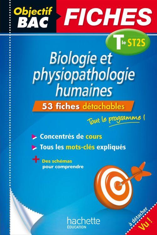 Chrystelle Ménard Objectif Bac Fiches Bio Physio Term St2S