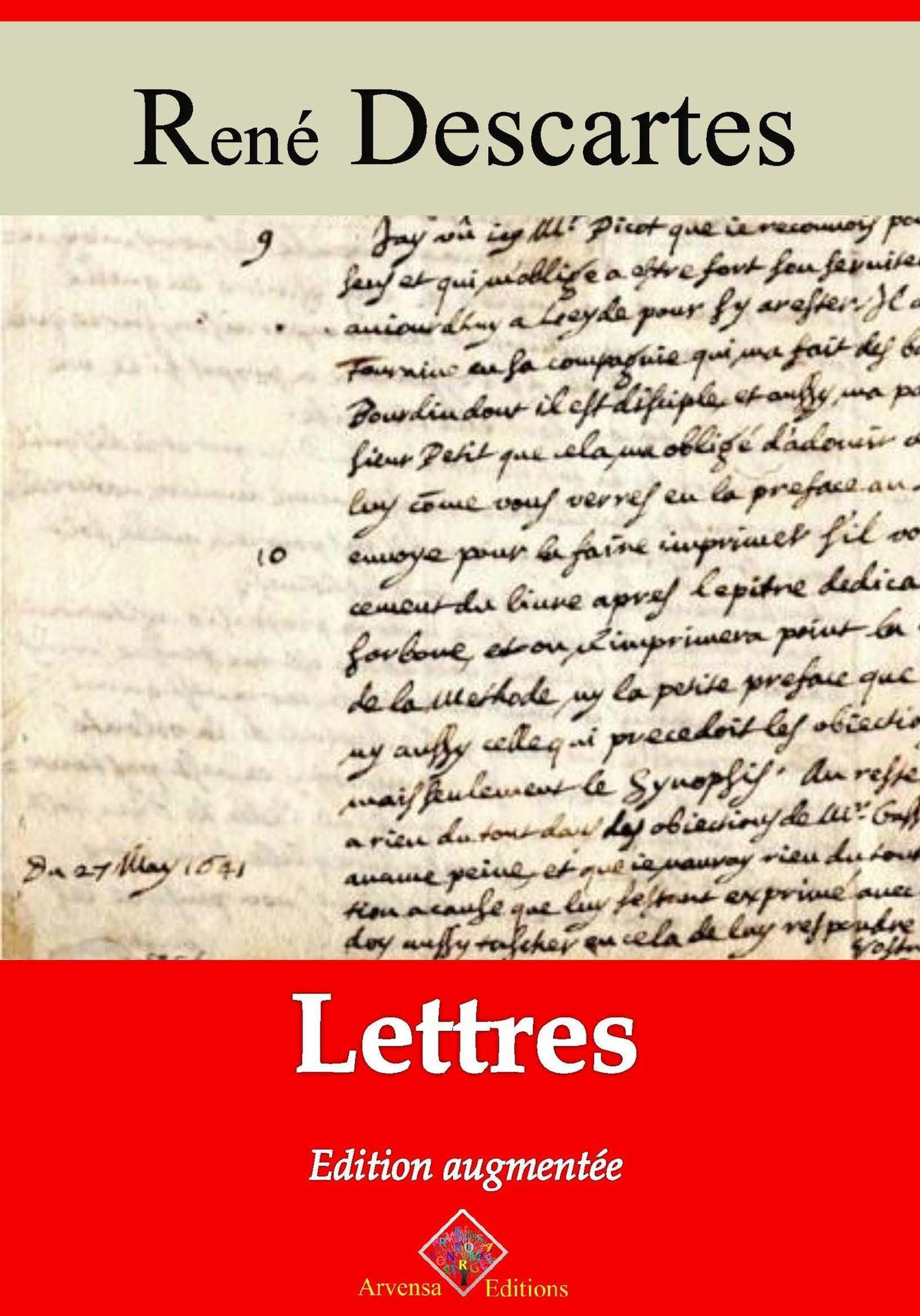 Lettres - suivi d'annexes
