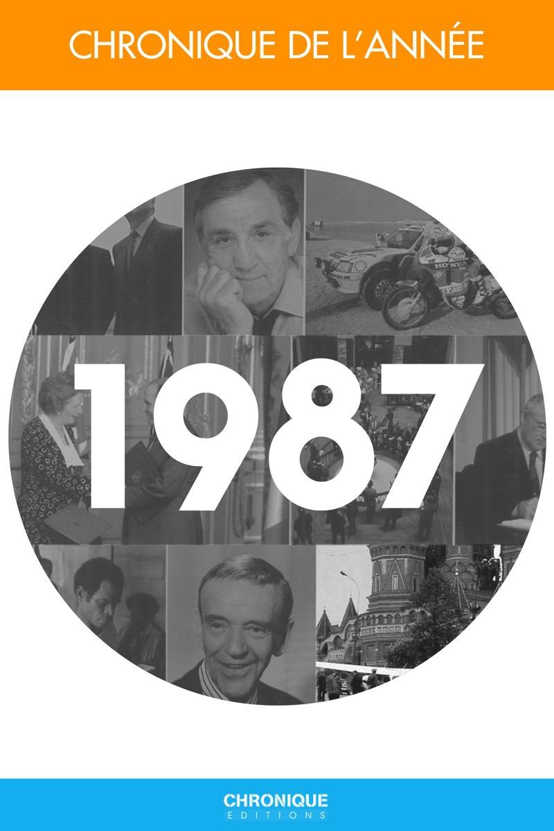 Collectif Chronique de l'année 1987