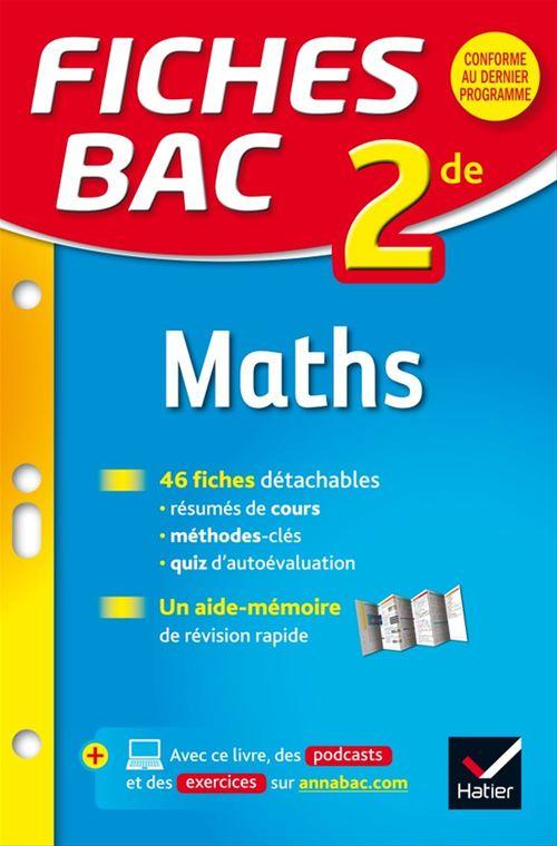 Hervé Kazmierczak Fiches bac Maths 2de
