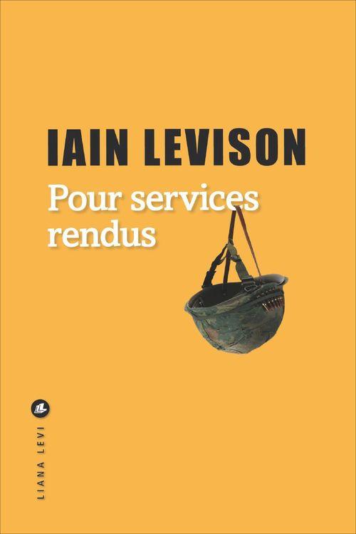 Iain LEVISON Pour services rendus