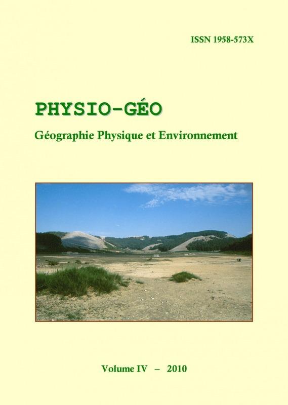 Volume 4 | 2010 - Varia - Physio-Géo