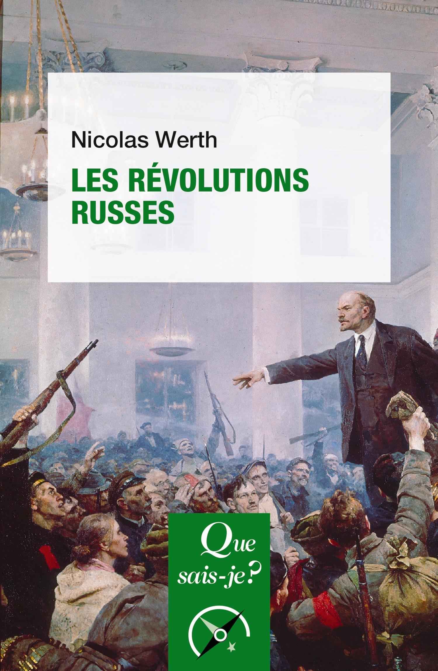 Nicolas Werth Les révolutions russes