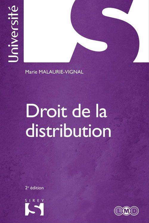 Marie Malaurie-Vignal Droit de la distribution