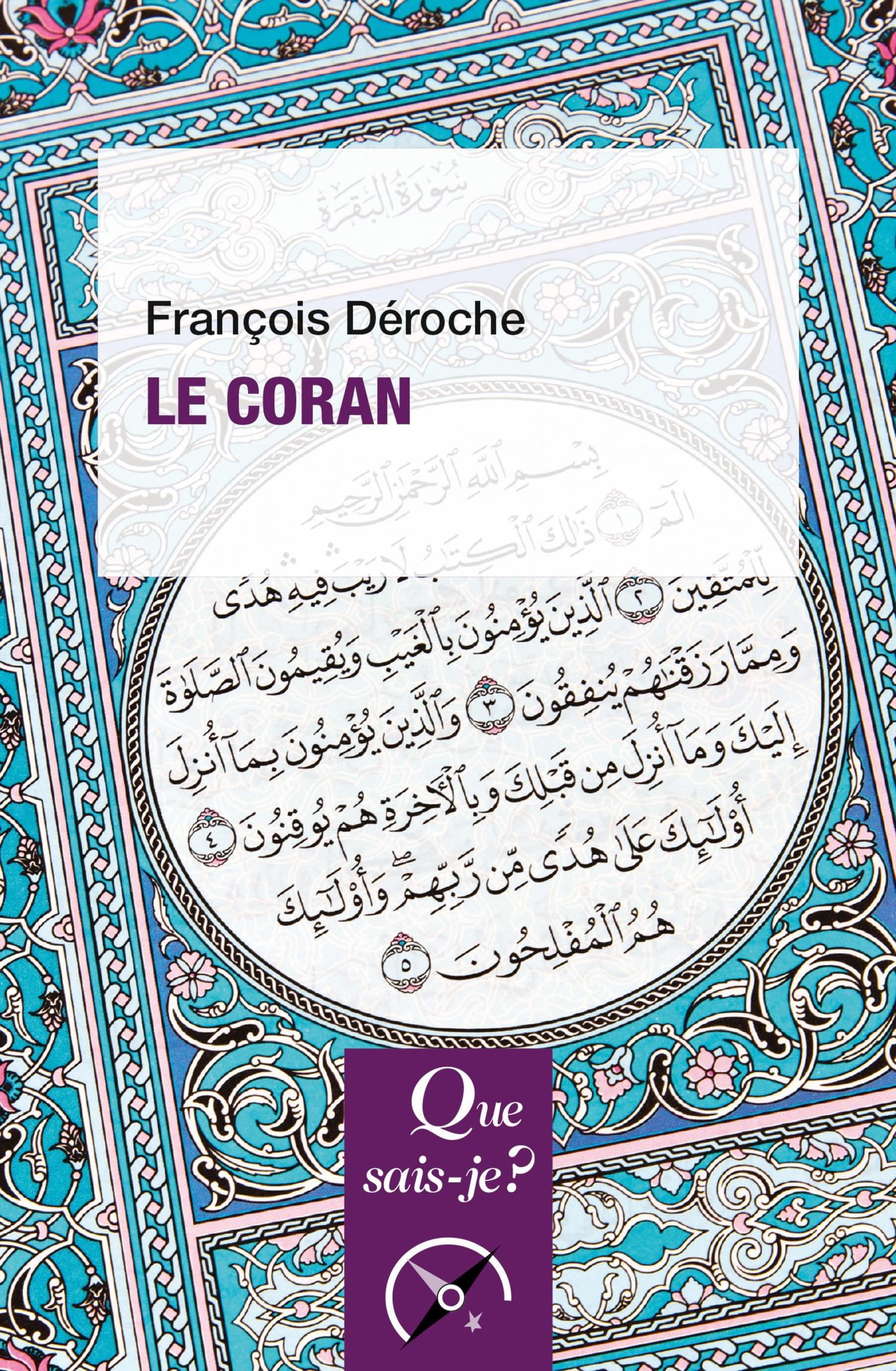 François Déroche Le Coran