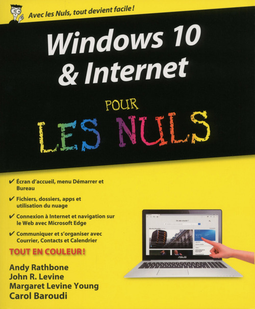 Andy RATHBONE Windows 10 et Internet Pour les Nuls