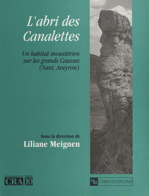 L'abri des Canalettes : un habitat moustérien sur les Grands Causses, Nant (Aveyron)