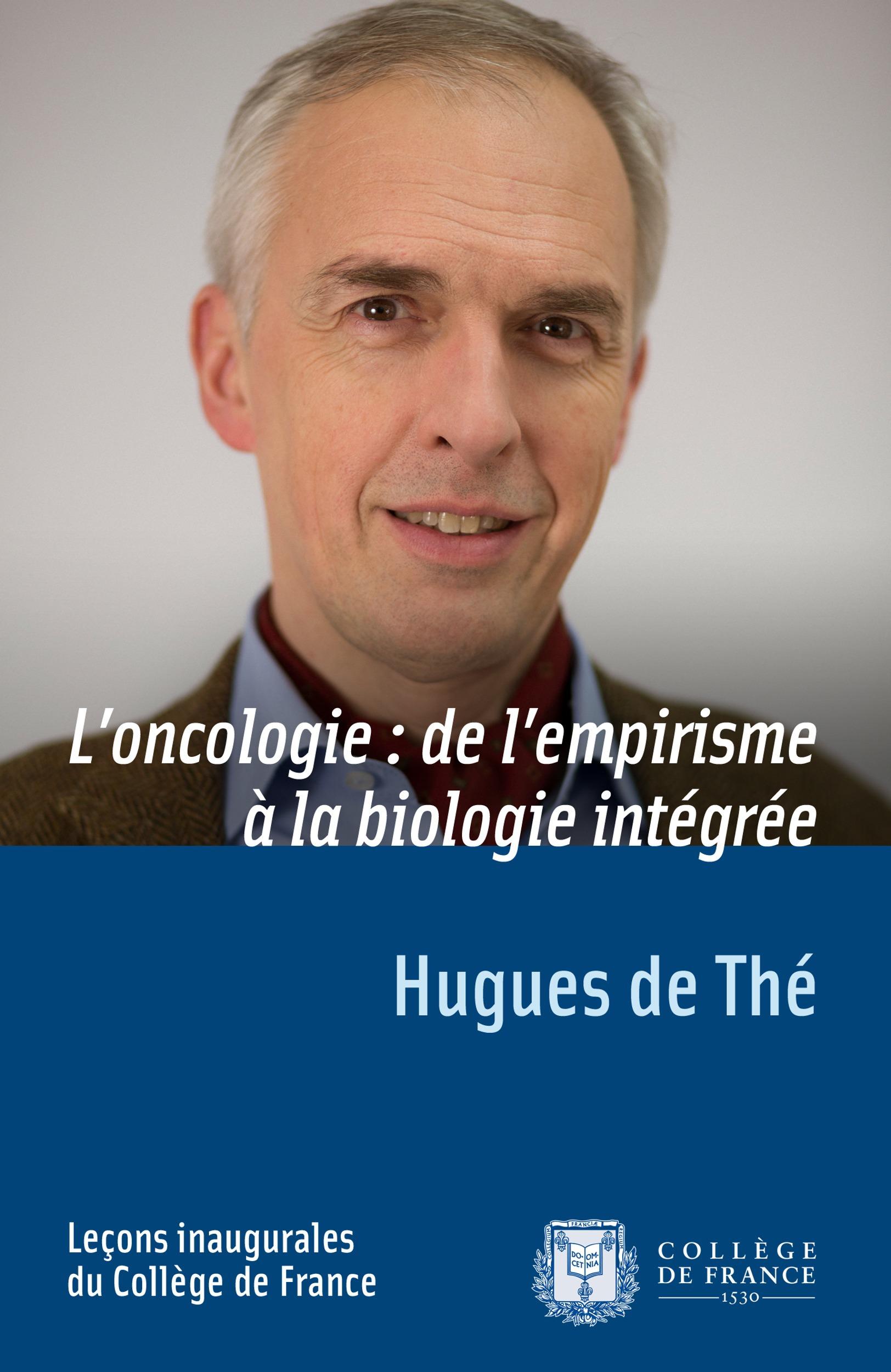 L´oncologie: de l´empirisme à la biologie intégrée