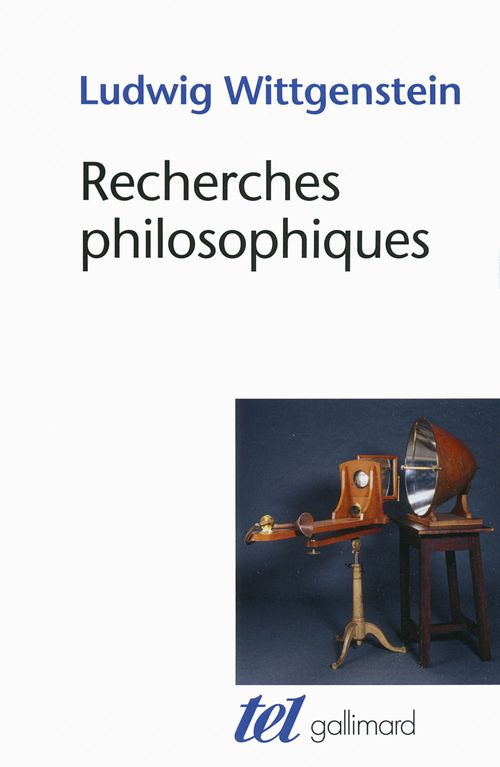 Ludwig Wittgenstein Recherches philosophiques