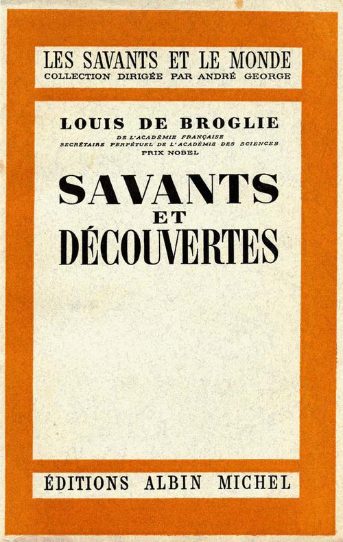 Louis de Broglie Savants et découvertes