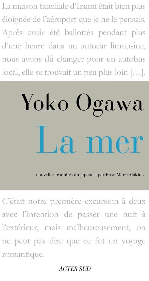 Yôko Ogawa La mer