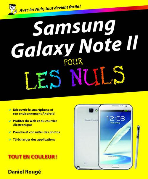 Daniel ROUGE Samsung Galaxy Note II Pour les Nuls