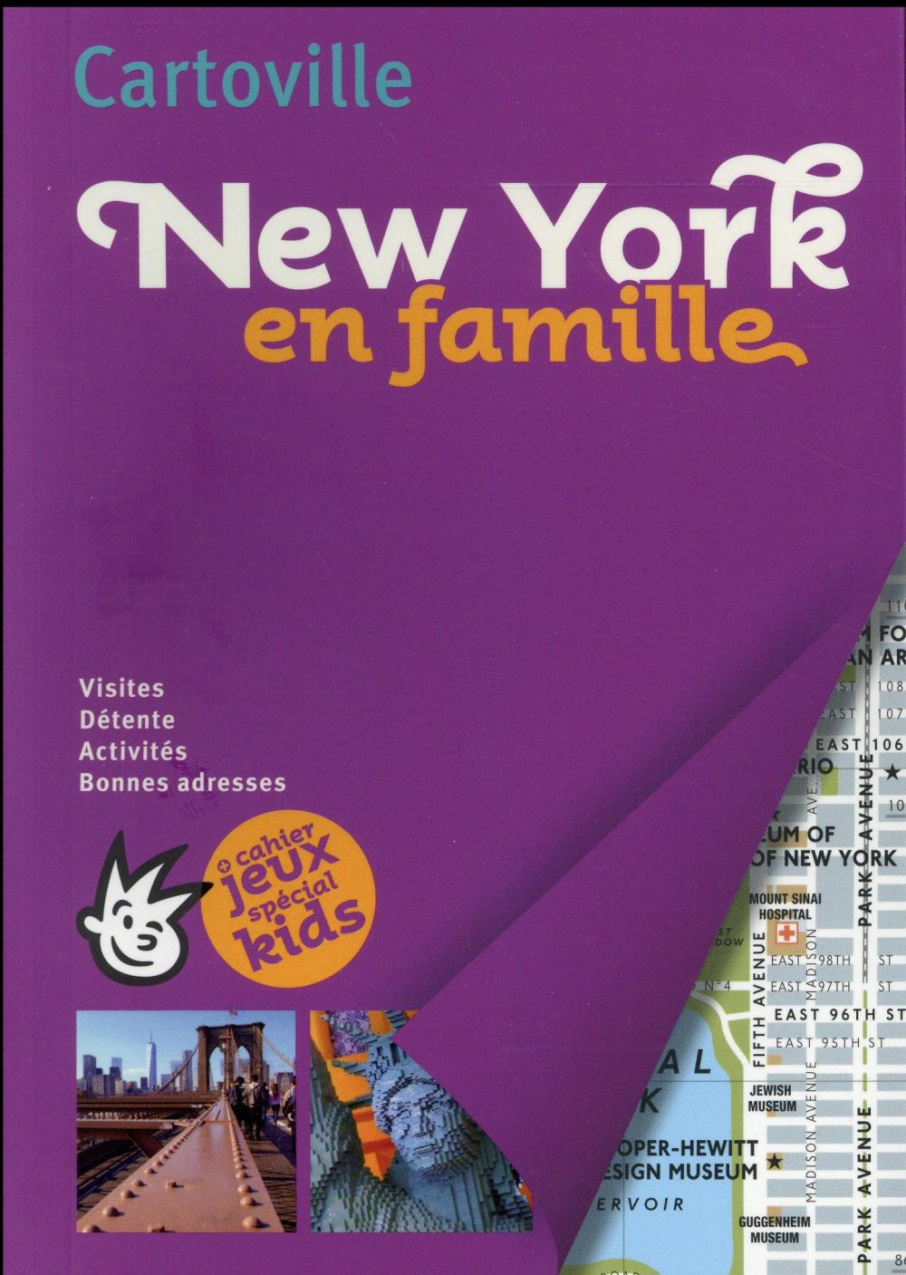 Cartoville New York en famille - Gallimard