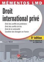 Droit international priv� (5e �dition)
